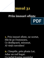 031.Prin Imnuri Sfinte