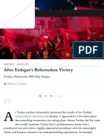 After Erdogan's Referendum Victory | Foreign Affairs