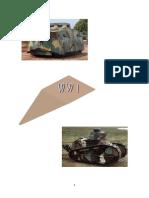 WWI-TANKS