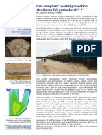 Can Compliant Coastal Protection Structures Fail Prematurely (I Sfikas, 2016 - ICT Newsletter 82)