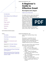 Effective Email - Jargon