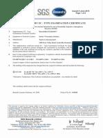 Baseefa 08atex0360x- Certificat Traductor - 73-1356t-b6
