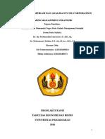 Tugas Majik_ Bu Roebi dan Pak Dahlan_Jumat 13.00_ Strategi Diversifikasi dan Analisa Nucor Corporation _ Nama Kelompok_Siti Fatimatuzzahra (120110140013)_Rikky Adiwijaya (120110140017).docx