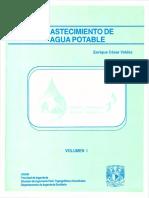 Abastecimiento de Agua Potable - Enrique Cesar Valdez