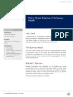v1.0 Rishabh Engineering CS 37 Piping Stress Analysis Horizontal Heater