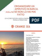 eBook - Come Organizzare un Aperitivo in Barca