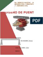 diseño puente losa