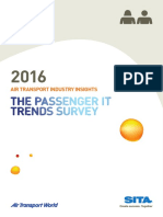 SITA Passenger IT Trends Survey 2016
