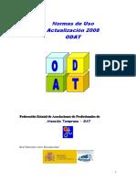 ODAT_Normas Uso 2008
