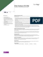 Synology DS108j Data Sheet Enu