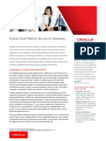 Marketing Cloud Platform Service 3037835