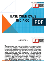 BASE Chemicals India Co Ghaziabad