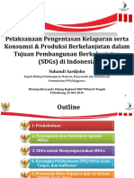 SDGs - Deputi PMMK Bappenas - Sireg DKP Tengah 2016
