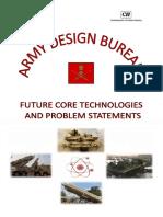 Prob Defn by Army Design Bureau