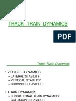 Track Train Dynamics