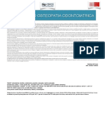 Osteopatia Odontoiatrica Flyer