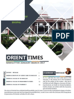 Oriental Group of Institutes - Newsletter