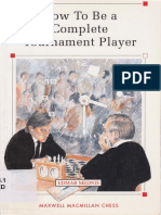 Edmar Mednis How to Be a Complete Tournament Player 1991