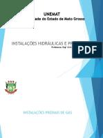 Fot 9574aula 06 - Sistemas Pyediais Instayoes de Gas PDF