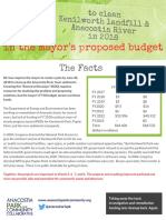 The Facts about the FY 2018 DOEE Capital Budget