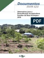 Alternativas Para Diversificação Da Agricultura Familiar