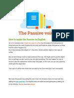 Classnotes - Passives