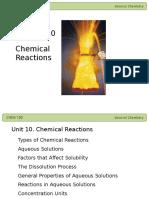 10 Chemical Reactions II