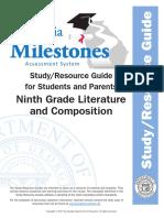 milestones studyguide 9lit 11-16  1
