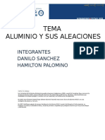 aluminio y aleaciones
