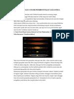 Penjelasan 6 Teori Pembentukan Tata Surya