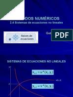 2.4 Sistemas de ecuaciones no lineales.pps
