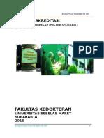 Borang Prodi Ilmu Bedah FK UNS