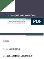 ElSistemaParlamentari - Resum Tema XESx