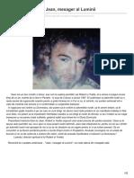 MESAJE DIN CER - Jean Mesager Al Luminii