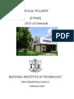B.Tech-Ist-2016