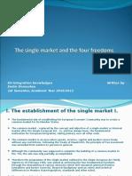 The Single Market I.