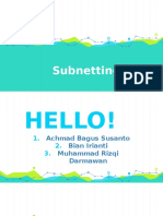 subnetting kelompok 4