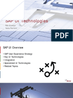 SAP UI Technologies