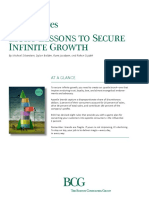 BCG Eight Lessons to Secure Infinite Growth