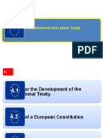 The Constitutional and Lisbon Treaty