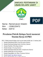 Alat Mekanisasi Pertanian Di Perkebunan Kelapa Sawit