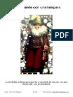 Noel Grande Con Una Lampara