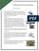 Proceso Princial de Fabricacion de Producto Descartable