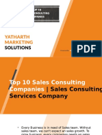 Top 10 Sales Consulting Companies Sales Consulting Services Company