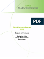 EU Network Against Racism (Shadow Report) Denmark -2008