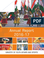 Annual Report 2016-17 of the Ministry