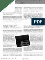 Reseña LIbro Metales Pesados Por Leonardo Piña