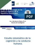 El Rol de la Psicología en las Políticas Públicas de la  República Dominicana