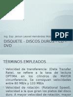 Discos Duros – CD – DVD - Disquete