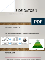 BASE DE DATOS INTRODUCCION